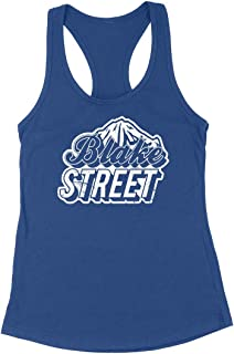 Vintage Blake Street Colorado Womens Racerback Tank Top