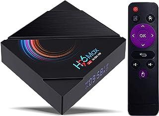 TV BOX,H96 MAX Android 10.0 TVボックス、TVボックス4GB RAM 64GB ROM、H96 maxTVボックスAndroidAllwinner H616クアッドコア64ビット(デュアルWiFi 5G Hz / ...