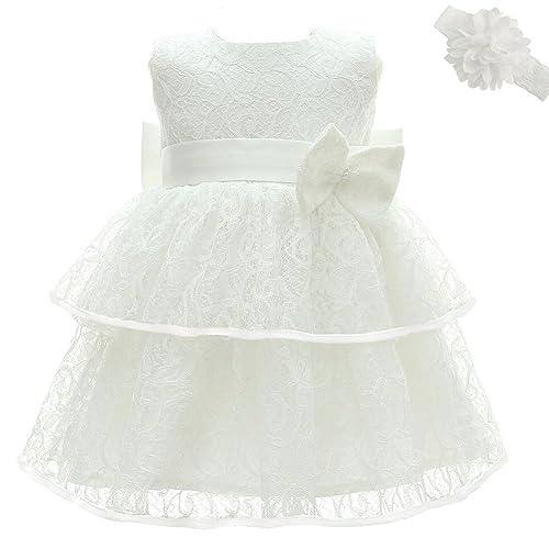 0-2anni AHAHA Vestito Rose da Principessa Bambino per Matrimonio Abiti per Feste di Compleanno per Bambina