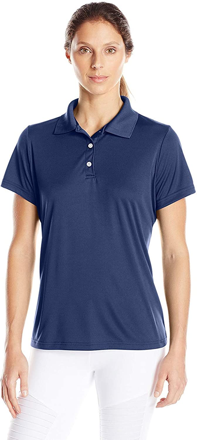 Hanes Sport Women's Cool DRI Performance Polo at  Women's Clothing store