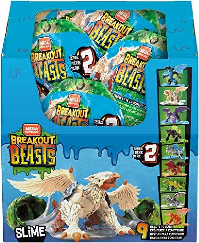 Mega Construx Breakout Beasts, Complete Wave 2 Series, 9pc Set, Limited Edition, NO SURPRISES