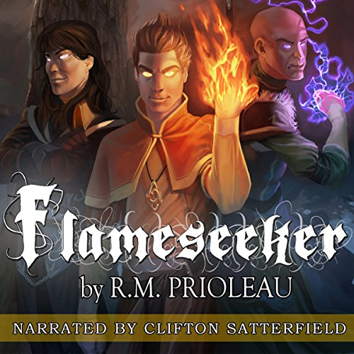 Flameseeker audiobook cover art