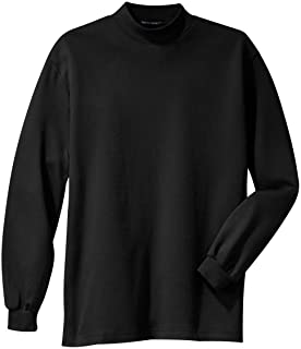 Interlock Knit Mock Turtleneck (K321)