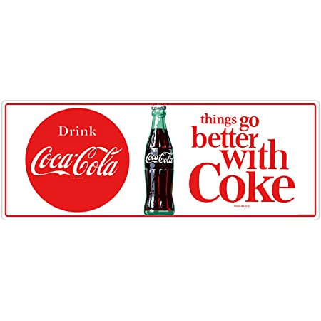 Coca-Cola Crossing Guard Slow Vinyl Wall Decal Removable Re-positionable