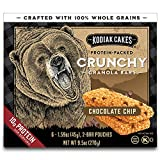 You will receive a Pack of (12) Boxes of Kodiak Cakes Crunchy Chocolate Chip Granola Bars (72 Pouches Total) 10 grams of protein per serving Made with 100% whole grains: a good source of B vitamins and antioxidants Non-GMO ingredients and no artifici...