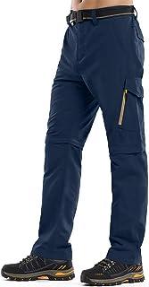 Jessie Kidden Men's Outdoor Quick Dry Convertible Lightweight Hiking Fishing Zip Off Cargo Work Pants #9999