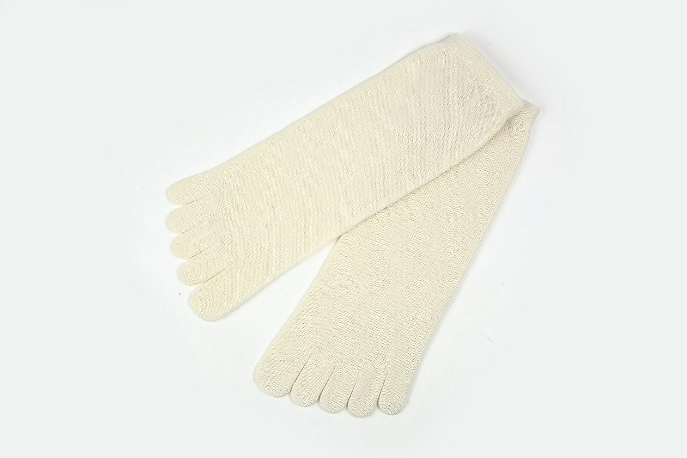 レール風景ブラシutatane 冷えとり靴下 大人用 ウール100% 5本指ソックス レディーズ