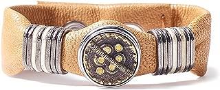 Noosa Unisex Wabi Sabi bracelet harmony - ocher