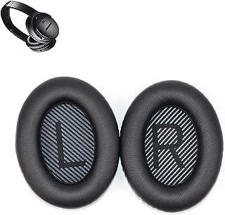 Replacement Headband Pad Cushion Repair Parts Compatible with Bose Quietcomfort 35 QC35 Headphones (QC35-Black)