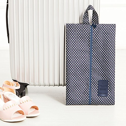 MZP chaussure chaussures imperméables sacs de poche du sac à poussière de la poche Voyage valise chaussures de sac couvre chaussure boîte à chaussures , blue star