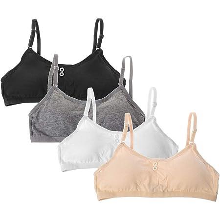 Soft Cotton Bra for Young Girls Kid Underwear Puberty Bras Push Up Bras Bralette