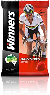 Winners Sports Nutrition Berry Energy Chews, Pack of 12