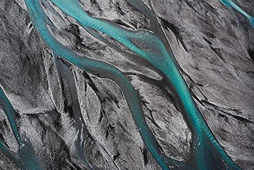 MX-XXUOUO Rompecabezas de Fondo de Naturaleza de Islandia, Rompecabezas clásico para Adultos, de Madera Grande, 1000 Piezas