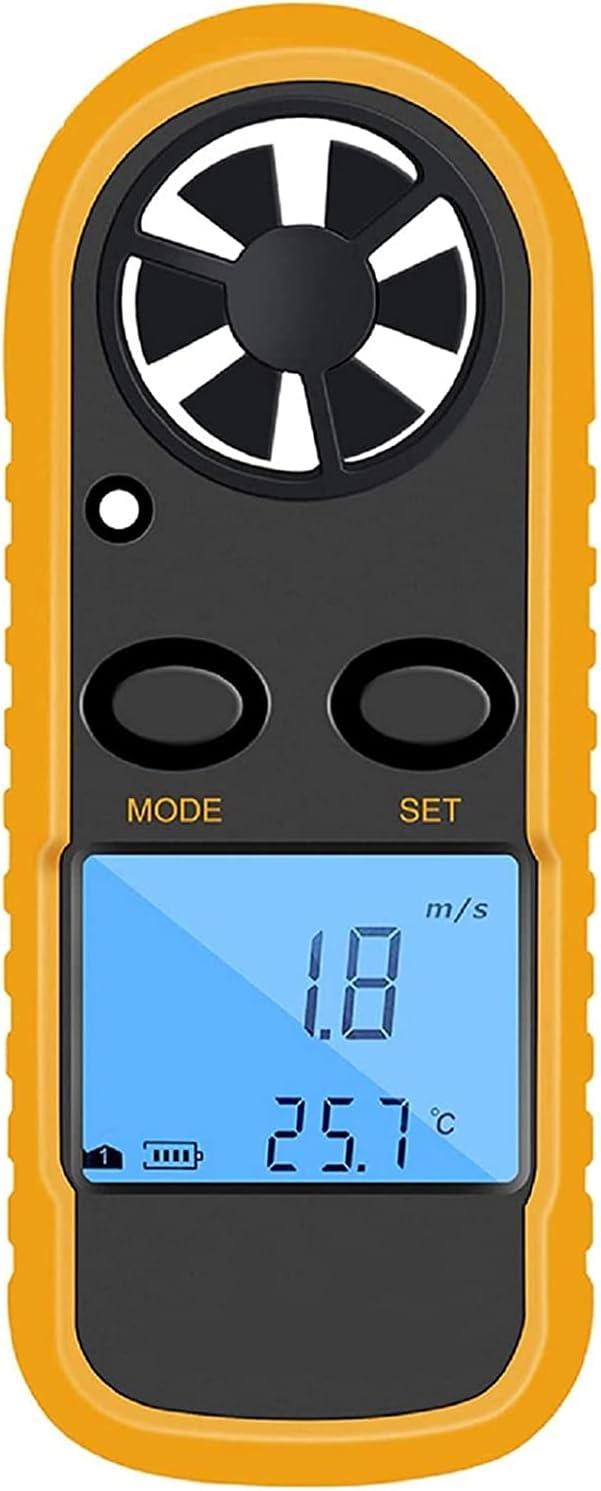 JYKCBP Max 44% OFF Anemometer OFFicial Handheld Light Weight Measu Flow Air Velocity