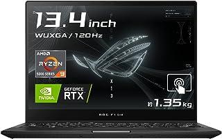 ASUS ゲーミングノートパソコン ROG Flow X13 GV301QE(13.4インチ/Ryzen95900HS/16GB, 512GB/RTX 3050 Ti Laptop GPU/1,920×1,200/タッチスクリーン/オフブラ...