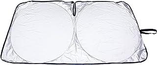 メルテック フロントサンシェード 遮光マジカルシェード Mサイズ 遮光率99%&UVカット 収納袋付 ドラレコにも対応 シルバー/ブラック W1300×H700mm PMS-M