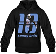 Show Time Men's Kenny Britt Custom Hoodies Black