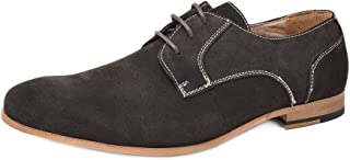 Bruno Marc Men's Suede Leather Oxford Classic Dress Shoes Business Casual Shoes