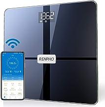 RENPHO Premium Wi-Fi Bluetooth Scale Smart Digital Bathroom Weight BMI Body Fat Scale Tracks 13 Metrics, Wireless Body Com...