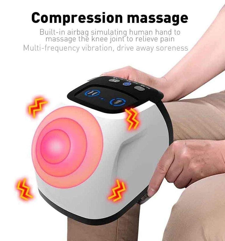 愛する飲食店おばあさん足と膝の痛みを和らげるための電動マッサージケアツール、エアバッグの圧縮/振動/暖かい/赤外線マグネット理学療法、血液循環の促進