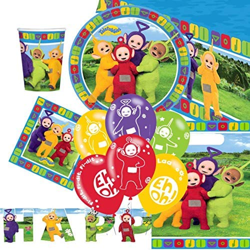 Party Bags 2 Go Teletubbies Festa Finale Kit per 8