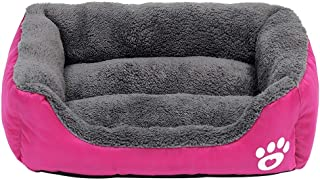 Waterproof Dog Bed Sofa Warm Pet Sleeping Beds House Kennel Washable Dogs Cat Cushion Kennel Soft For Small Large Dogs (Co...