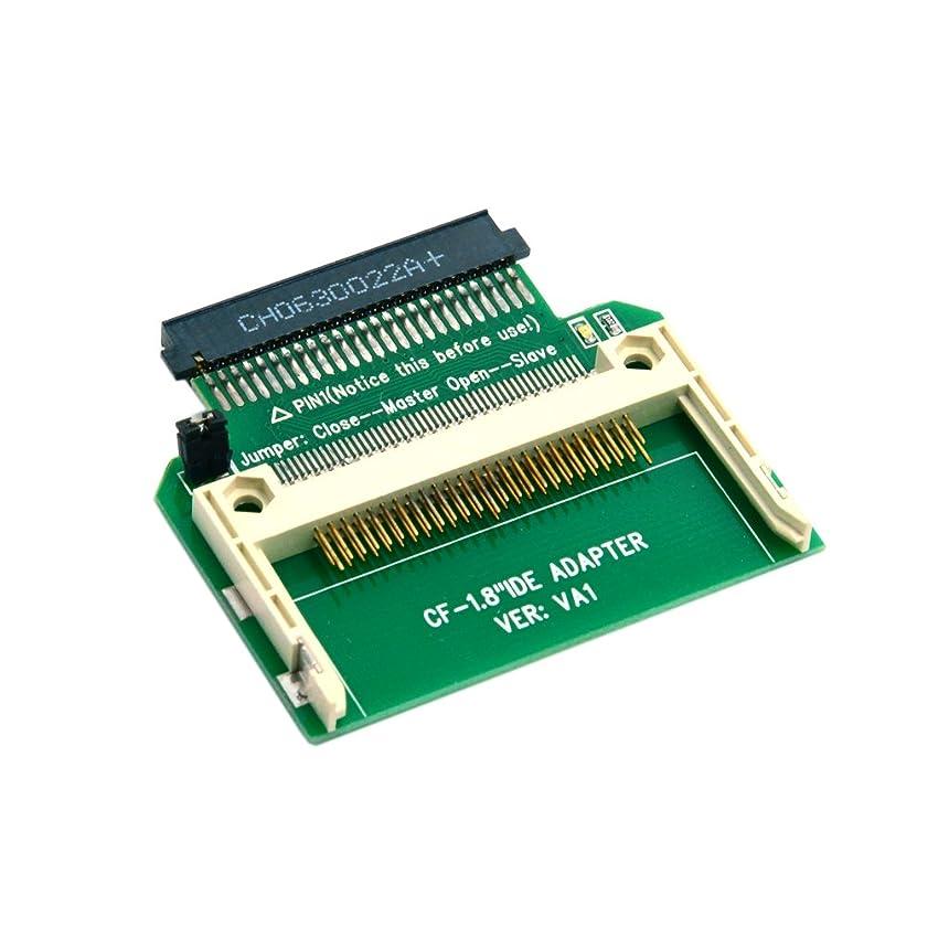 要求従来の検証CY CFコンパクトフラッシュMeroryカードto 50pin 1.8インチIDEハードドライブSSD変換アダプタfor Toshiba