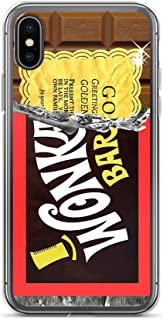 iPhone 7/8 Pure Clear Case Cases Cover Wonka Chocolate Bar Golden Ticket