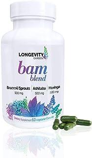 BAM Blend (Broccoli Sprouts, Ashitaba, Moringa) Vegan Capsules