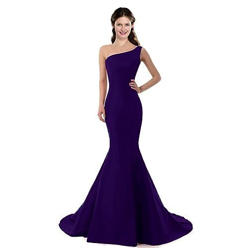 COLOREDRESS Color E Dress Design Brief Elegant Mermaid One-Shoulder Evening  Dress 19b7d4f56