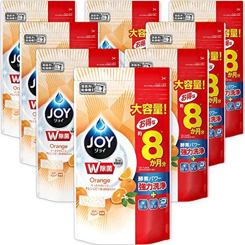 スマートマットライト 【ケース販売】 ジョイ 食洗機用洗剤 オレンジピール成分入り 詰め替え 特大 930g×8個