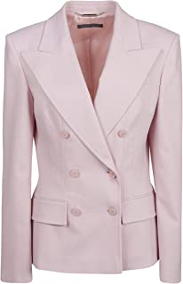 Alberta Ferretti Luxury Fashion Womens 05055123A0186 Pink Blazer | Fall Winter 19