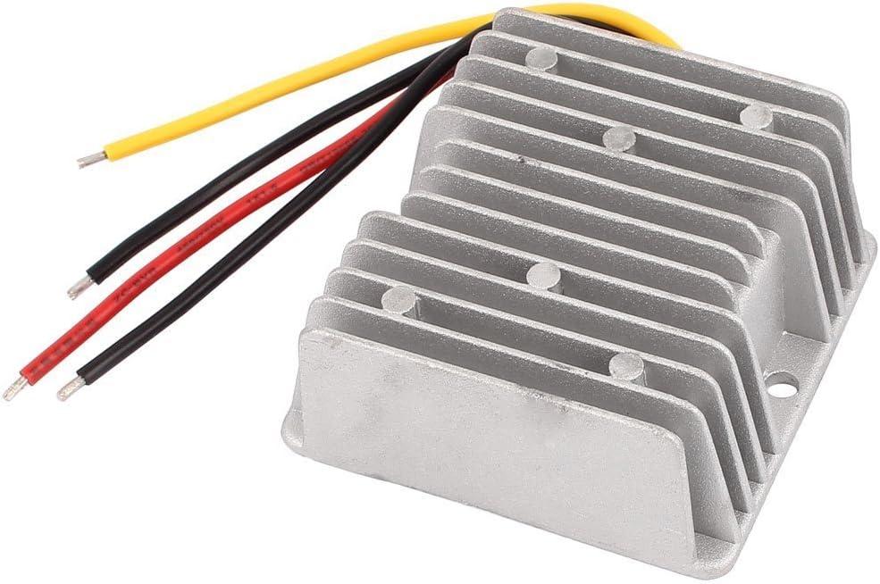 DC36V to DC24V10A, 36V step-down 24V, 36V buck 24V, 36V change to 24V, 36V turn to 24V, 36V to 24V DC/DC buck module, 30V~48V to 24V, Car power adapter, Buck converter,waterproof DC-DC