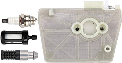 Dxent MS380 Air Filter Cleaner with Oil Fuel Filter Spark Plug for Stihl 038 038AV MS381 Chainsaw 1119 120 1607