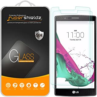 Supershieldz (2 Pack) for LG G4 Tempered Glass Screen Protector, Anti Scratch, Bubble Free
