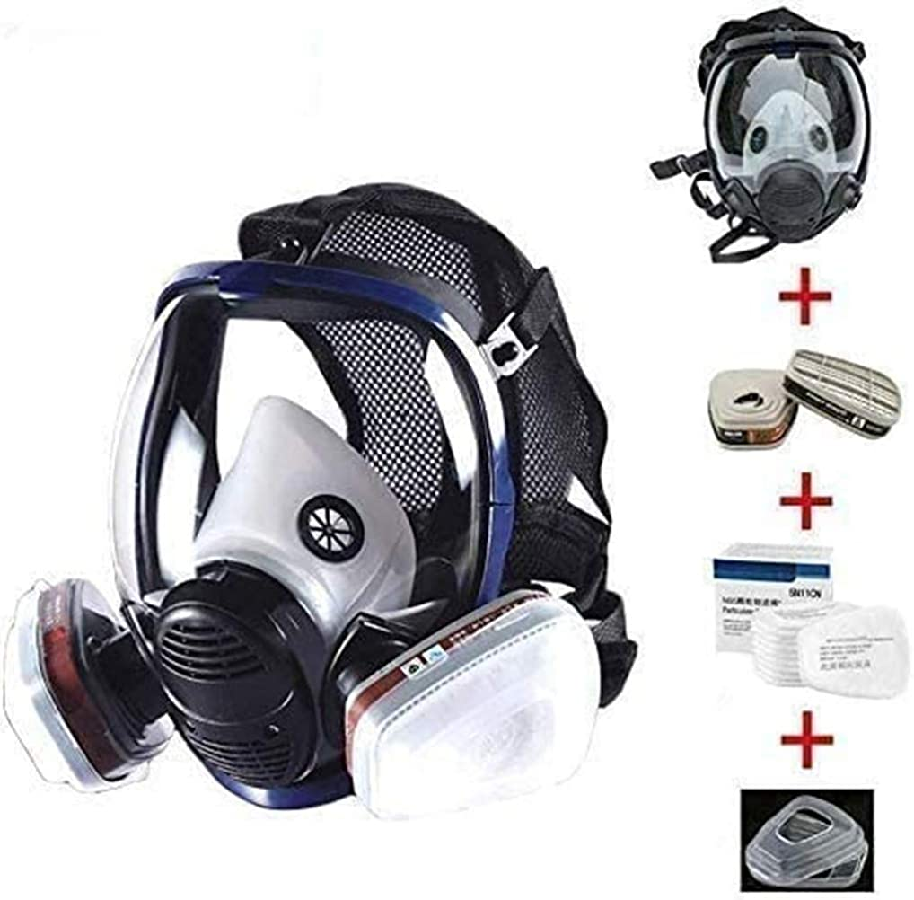 15in 1 Limited Special Price Reusable Full Max 46% OFF Face Respirator Widely in Used Paint Spraye