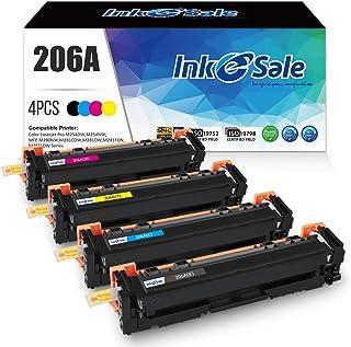 INK E-SALE 206A W2110A Compatible Toner Cartridge Replacement for HP 206A W2110A W2111A W2112A W2113A 206X for HP Color La...