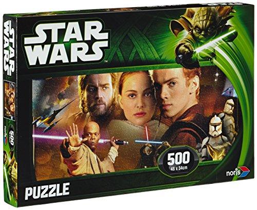 Noris 606031141 - Star Wars Puzzle Episode 2 & 3, Anakin, 500 Teile