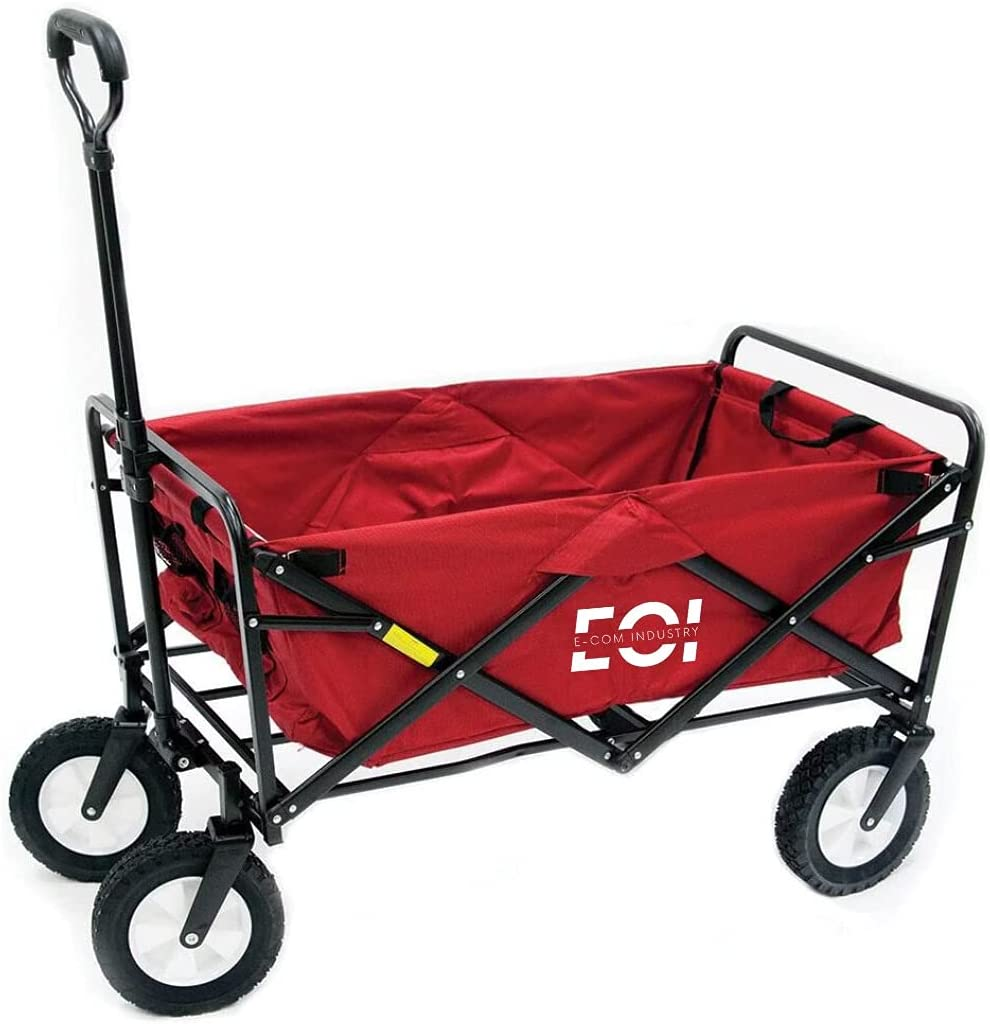 E-Com gift Industry Red Sports Collapsible New sales Utility Folding Outdoor Wa