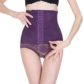 Six-Row Buckle Corset Body Shaping Belt Stereotypes Postpartum Abdomen Purple M