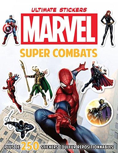 MARVEL - Ultimate Stickers Super Combats PDF Books