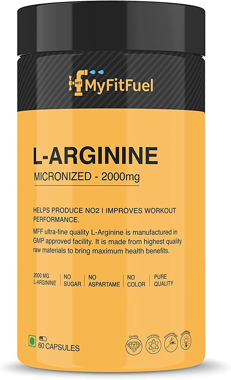 Factory outlet Max 60% OFF Madow L-Arginine 2000 mg Capsules 60