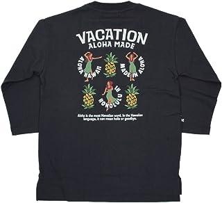 ALOHA MADE アロハメイド メンズ 長袖 七分袖 Tシャツ ロングTシャツ(メンズ/チャコールグレー) 201MA1LT005GRY (M)