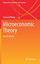 Microeconomic Theory (Springer Texts in Business and Economics)