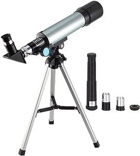 تلسكوب بعدسة 90×، فضائي علمي ولعلم الفلك، العاب سطح منضدة لاستكشاف الطبيعة للاطفال والكبار، يستخدم للنظر الى نجوم السماء و...