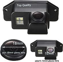 Super HD vehicle camera 1280x720 pixels 1000 TV lines Color CCD Waterproof Vehicle Car Rear View Backup Camera, 170° Viewing Angle Reversing Camera for Mitsubishi Lancer Evolution 2007-2014