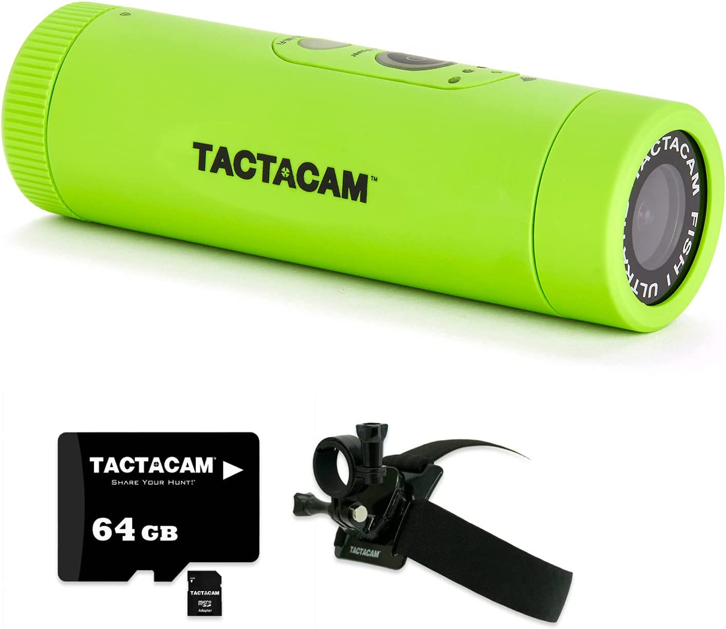 TACTACAM SEAL limited product Fish-i Wide Rapid rise Lens Fishing Action Includes - Head Camera