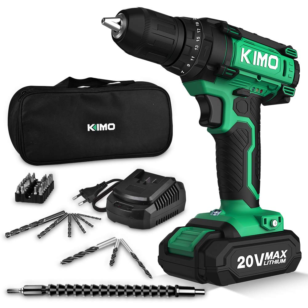 Cordless Lithium Ion Battery Variable Drilling