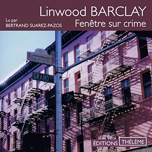Fenêtre sur crime audiobook cover art