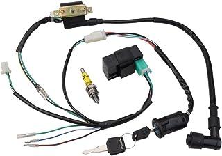 goofit ignition rebuilt kit wiring harness for 50cc 70cc 90cc 110cc 125cc  stator cdi coil atv